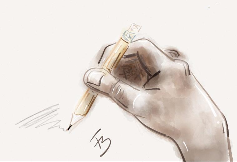Ilustra mão